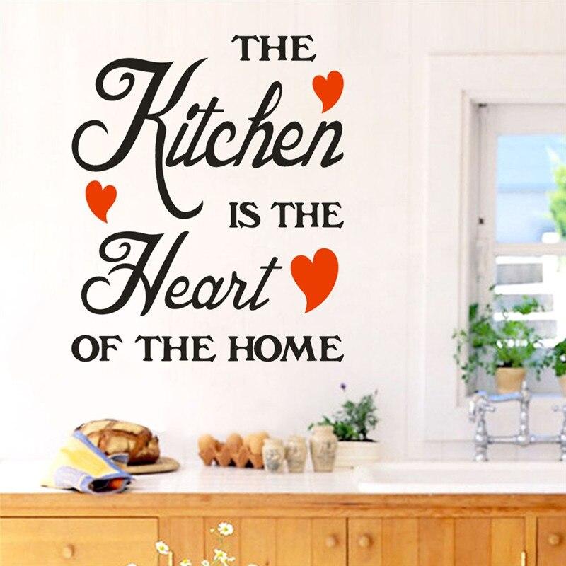 kitchen Vinyl Wall Stickers Quote Kitchen Dinning Room ...