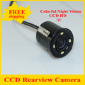 New Universal HD CCD Car Rearview Camera For all car 170 Degree Backup Parking Reverse Camera For Monitor GPS Rear View Camera