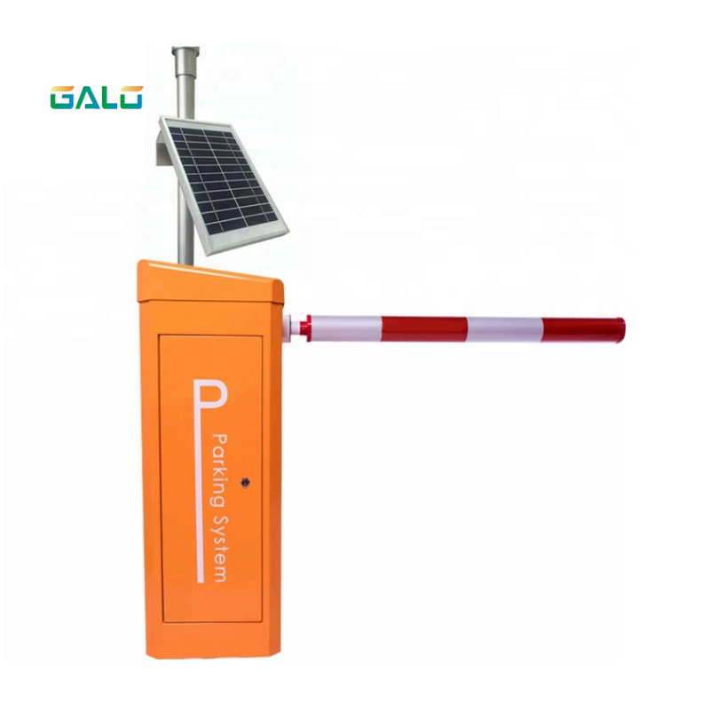 GALO Solar Panel Quality Remote Control Parking Arm Barrier Door