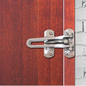 760ded8d1 Thicken puerta pestillo cerraduras hebillas seguridad niño Anti-robo  cerrojo cerradura metal puerta cadena ventana muebles Hardware