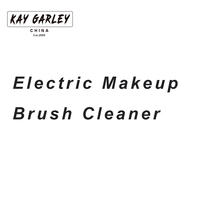 2017 New Arrival Electric Makeup Brush Cleaner With Convenient Silicone Tube Efficiency Makeup Brush Washer