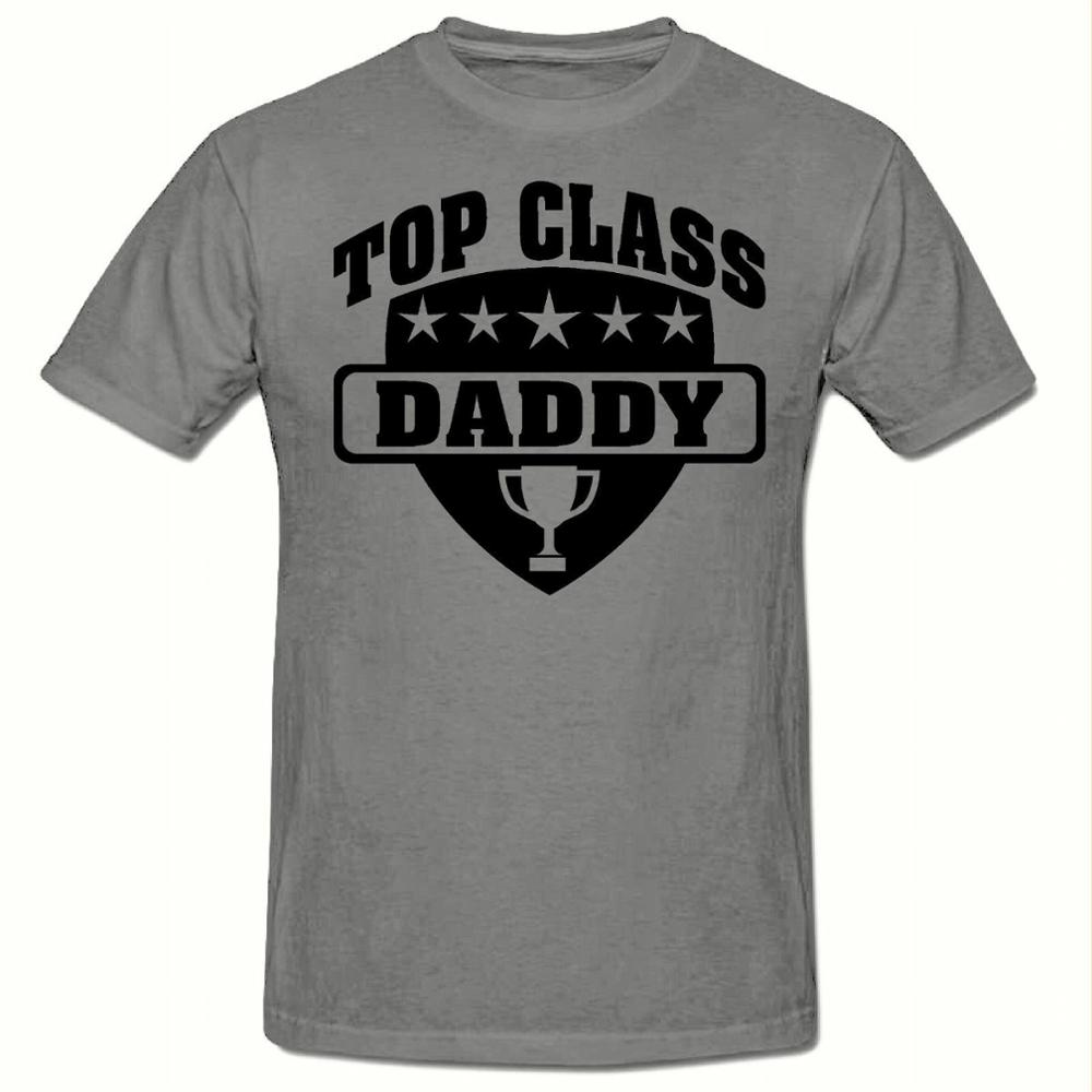 Design t shirt class - Design Tee Shirt Men S Short Sleeve Printing Machine O Neck Top Class Daddy T Shirt Funny Novelty T Shirts