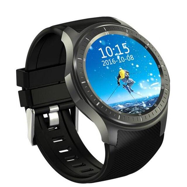 Bluetooth smart watch DM368 Android 5.1 OS 1.39 дюймов AMOLED Дисплей Quad Core поддержка Монитор Сердечного ритма 3 Г GPS Wi-Fi Для android