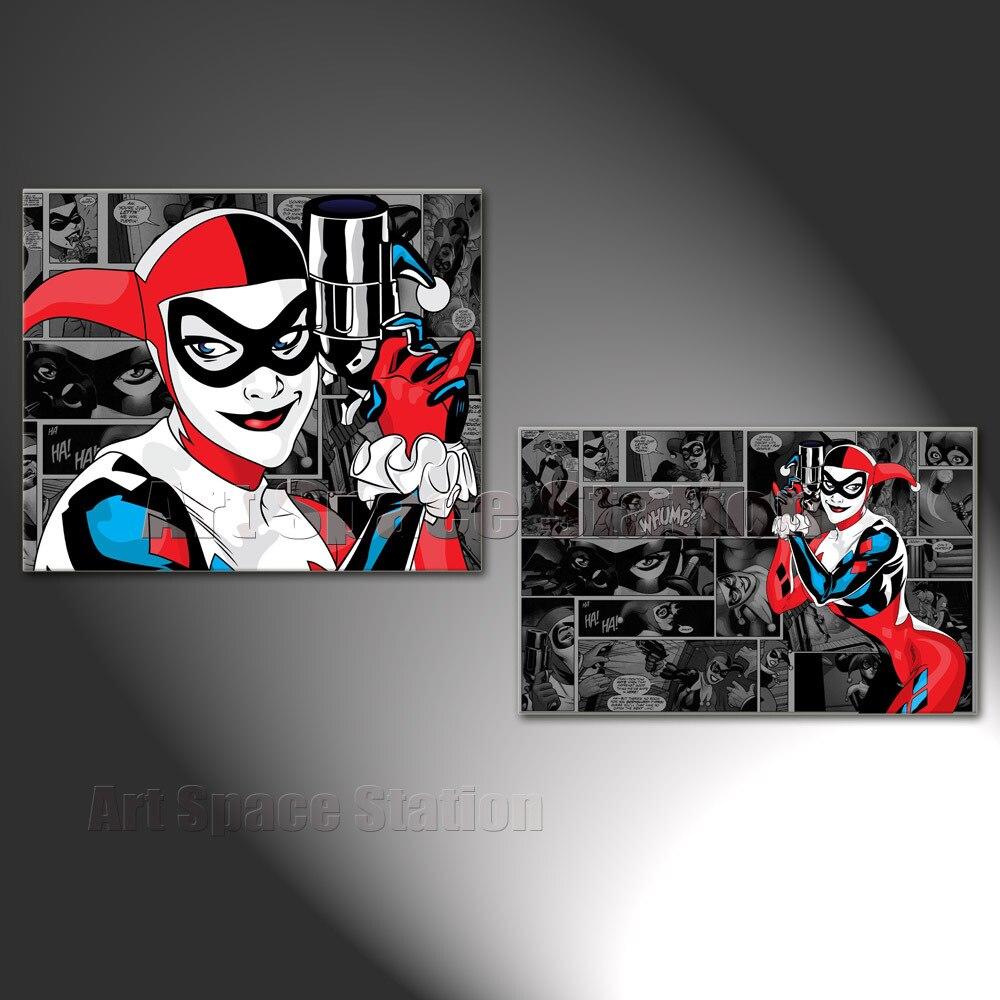 Batman Bedroom Decor 12 Harley Quinn And Joker Outline Tattoo  Aliexpress  Squad Dc Superhero Silk Poster 13x20. Harley Quinn Bedroom Decorations   Best Bedroom Ideas 2017