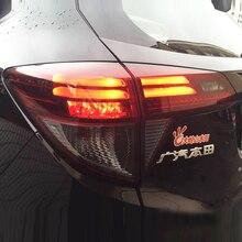 For HONDA HRV vezel LED Rear Light Red White LF