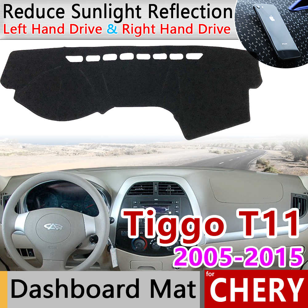for Chery Tiggo T11 2005~2015 Facelift Anti-Slip Mat Dashboard Cover Pad Sunshade Dashmat Protect Car Accessories 2009 2010 2011
