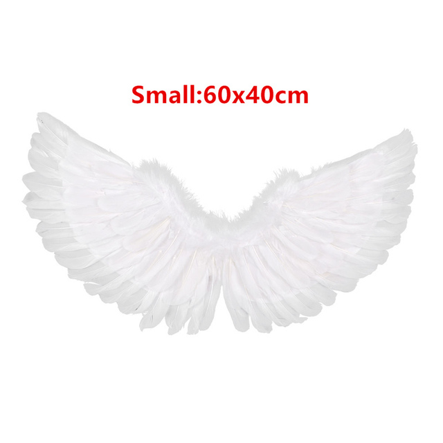 US 1Pc Feather Angel Wings Large for Dance Party Cosplay Costume Stage Show Gift
