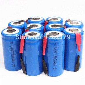 10-30pcs SC 1800mah 1.2v battery NICD rechargeable batteries for makita bosch B&D Hitachi metabo dewalt for power tools(China)