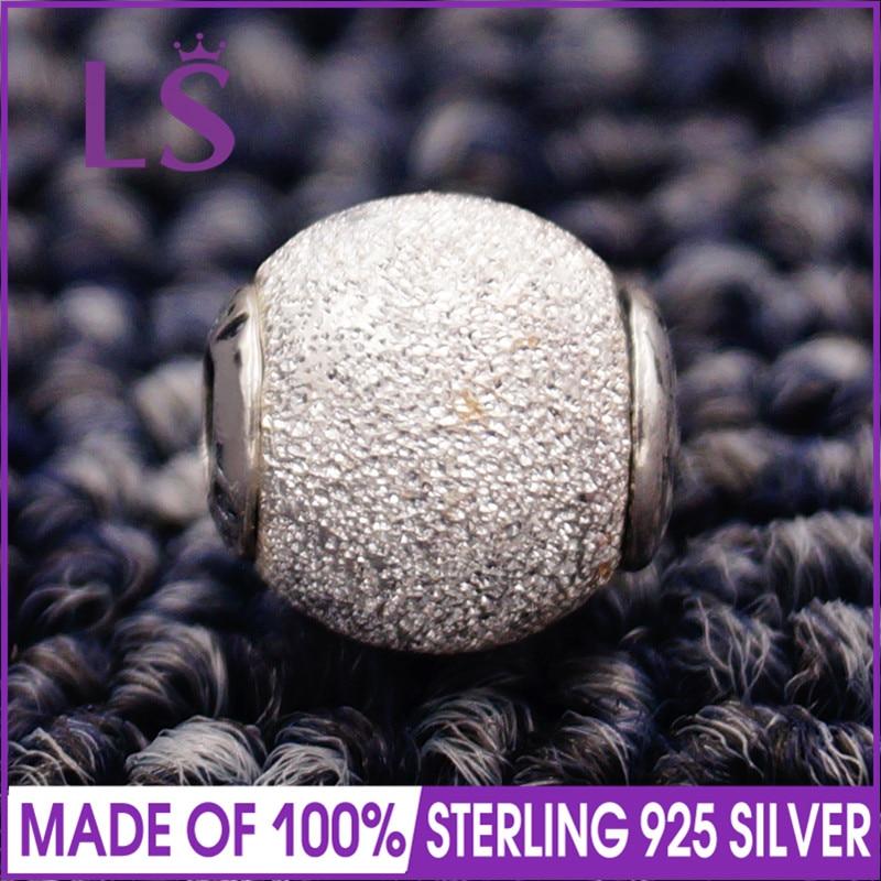 LS High Quality 100% S925 Silver Essence Wisdom Charm Beads Fit Original Essence Bracelets Pulseira Essencia. 100% Fine Jewlery