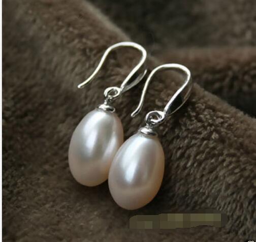 923752f18a7d Venta perlas barrocas 7x9mm oval blanco perla teardrop sólido pendiente de  plata en Pendientes de la gota de Joyería y accesorios en AliExpress.com ...