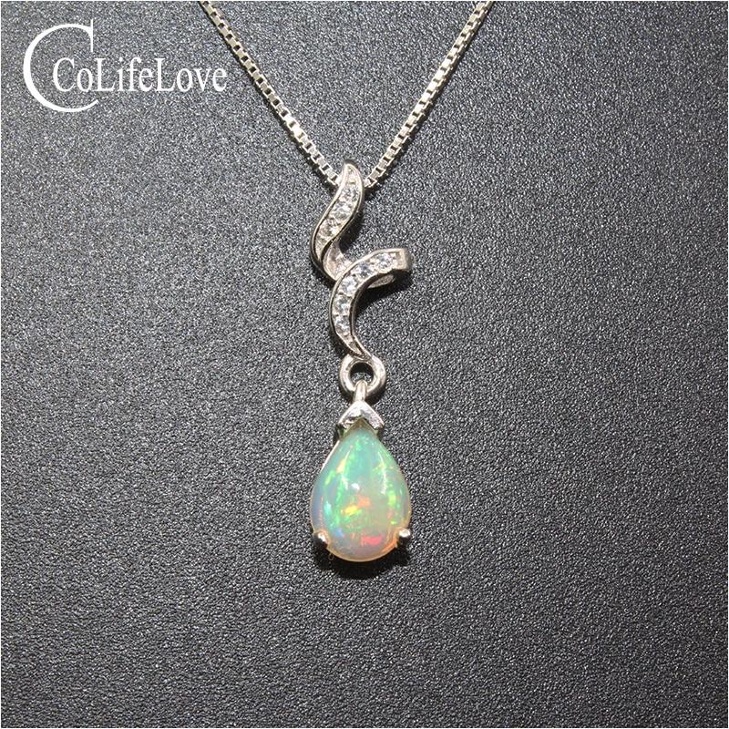 925 Sterling Silver Sp Amethyst Opal Garnet Multi Coloured Birthstone Necklace