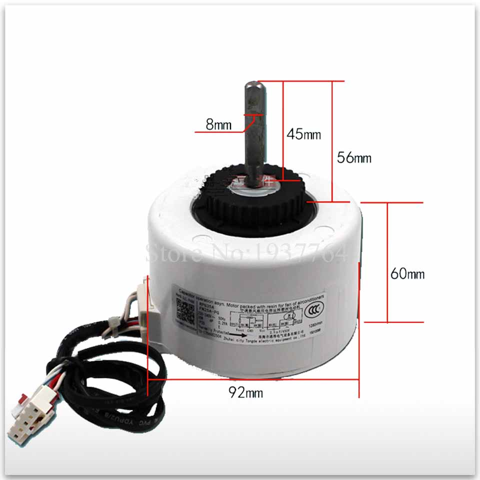 New for air conditioner motor FN25A-PG RPG35A FN25C-PG Fan motor good working 5pcs fm1608b pg fm1608b dip28 new