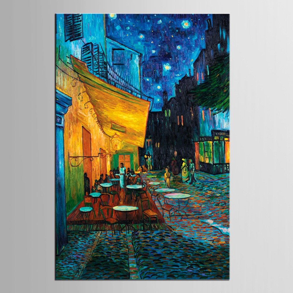 1 panel Coffee promenade Canvas Painting Children 39 S Room Decoration Print Canvas Pictures in Painting amp Calligraphy from Home amp Garden