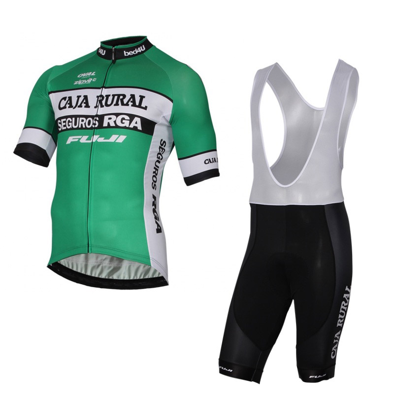 2017 Team caja rural summer mens quick-dry Cycling jerseys breathable bike clothing MTB Ropa Ciclismo Bicycle maillot gel pad