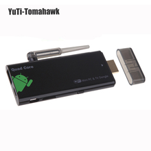 Quad Core Android 4.4 TV Stick 2G DDR3 8G EMMC with XBMC DLAN External WiFi Bluetooth 4.0 HDMI 1080P Mini PC Box tv Dongle