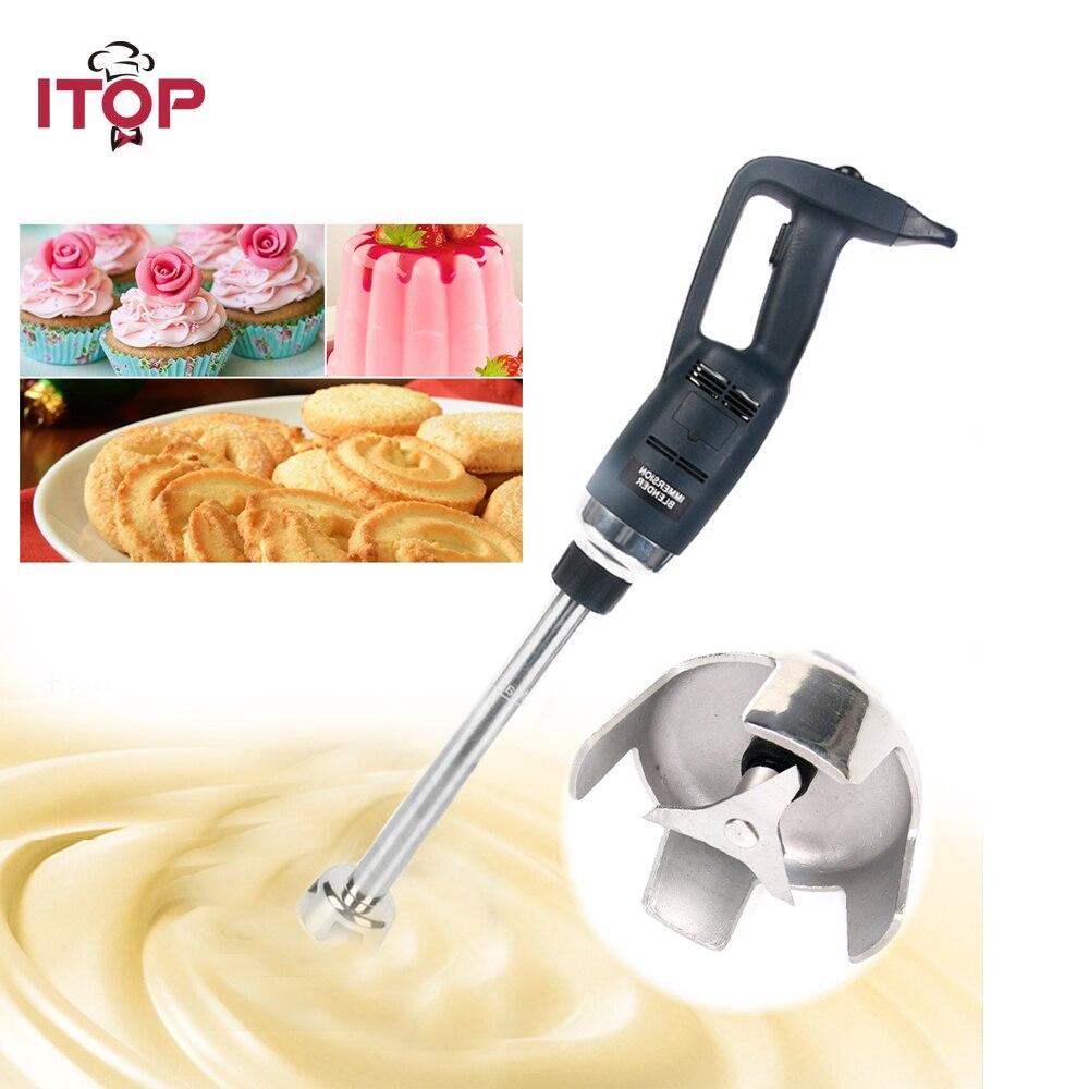 ITOP Heavy Duty frullatore Ad Immersione professionale Attrezzature da cucina Commerciale Palmare frutta Frullatore Robot da Cucina