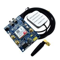 SIM808 модуль GSM/GPRS gps развитию IPX SMA с телевизионные антенны Raspberry Pi поддержка 2 г 3g 4 SIM карты