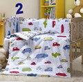 Roupa de cama berço camas de bumper / travesseiro / folha / colcha