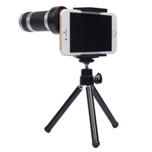 Sale 8X Zoom Telescope Telephoto Lens Phone Camera Lens Holder Universal For iPhone 5 5C 5S 6 Plus Android Mobile Phones Outdoor