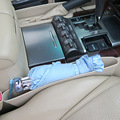 car Storage nets Pouch Bag Box Holder Universal Car Seat Slit Organizer Catch Cosmetics Purse Wallet Holder 35*11*3
