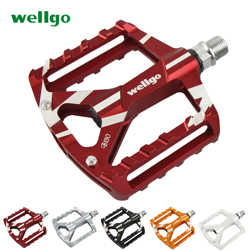 Wellgo B190 CNC Alloy Pedals Black