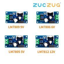 LM7805 LM7806 LM7809 LM7812 DC/AC три терминала регулятор напряжения Модуль питания 5 в 6 в 9 в 12 В выход Макс 1.2A