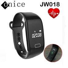 Neueste wasserdichte SmartWatch JW018 Herzfrequenz Armband Bluetooth4.0 Mode smartBand Monitor Ladung Passometer FÜR ISO Android
