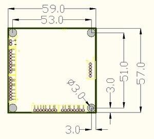 Image 5 - תעשייתי כיתה מיני 3/4 יציאת העברת מודול מתג Gigabit 10/100/1000 Mbps רחב טמפרטורת מיני שלושה ארבעה יציאת switchmodule