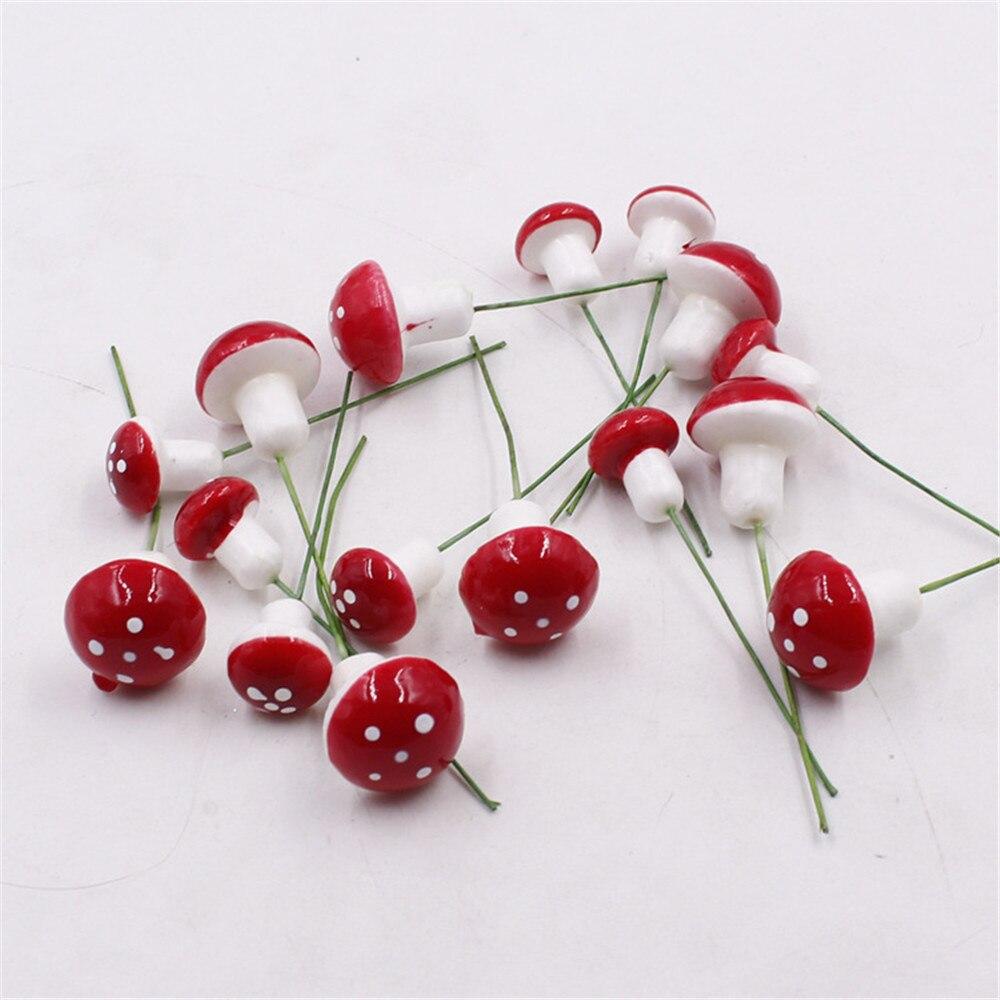 Новые Популярные Искусственный гриб трава Главная гостиничного рынка Декоративные цветы искусственные растения поддельные цветы 5 шт./лот