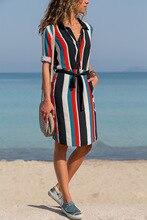 woman dress womans aesthetic v-neck autumn beach elegent clothing fashion new  ladies female dresses