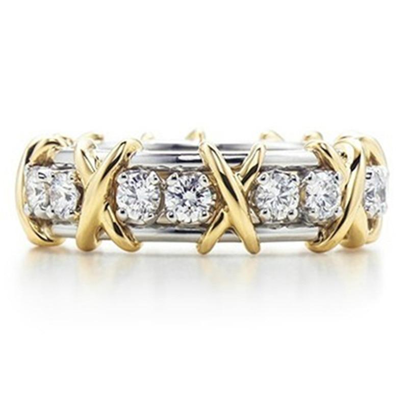 정품 브랜드 클래식 디자인 밴드 스털링 실버 주얼리 sona 시뮬레이션 다이아몬드 반지 기념일 저렴한 컬렉션 쥬얼리-에서반지부터 쥬얼리 및 액세서리 의  그룹 1
