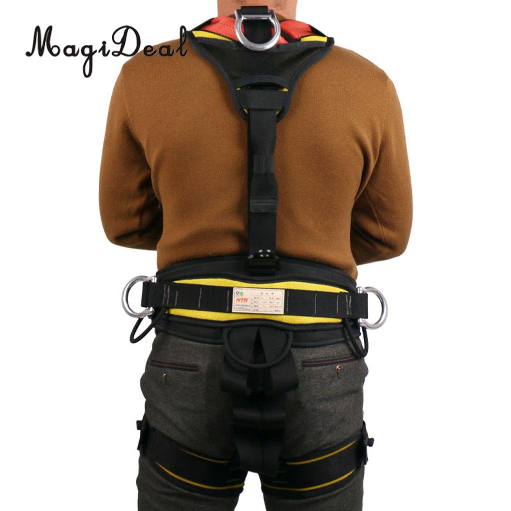 Full Body Rock Climbing Safety Belt Harness for Mountaineering Tree Arborist aerial work hunging rappelling ty94086dh atm38 3 0 automotive computer board