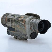 купить DSstyles 5X40 Tactical Infrared High-Definition Night Vision Glasses Monocular Telescope Video for Hunting Surveillance дешево
