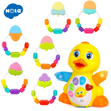 1pc Toddling Teethers  and 1 lucky duck