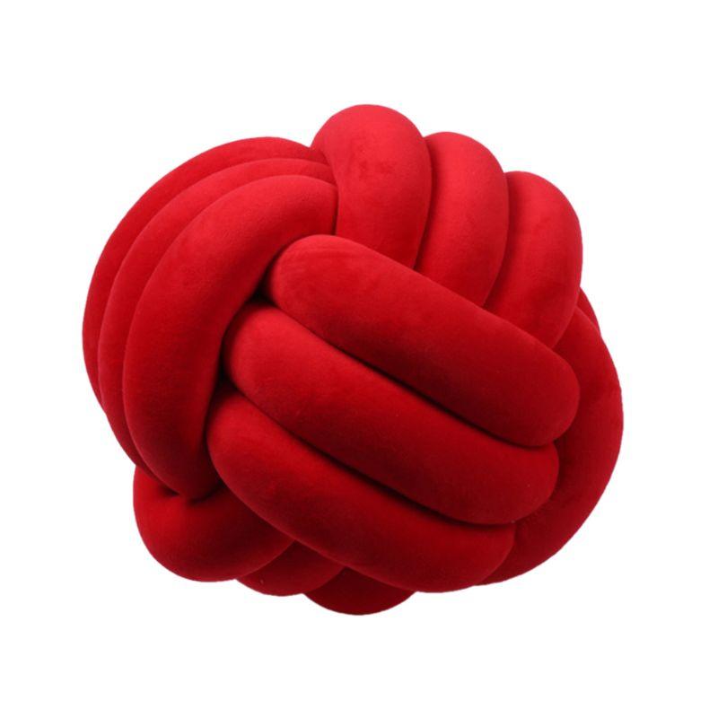 HTB11.mjXND1gK0jSZFyq6AiOVXaF Soft Knot Ball Cushions Bed Stuffed Pillow Home Decor Cushion Ball Plush Throw