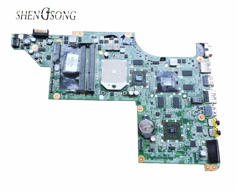 For HP DV7 DV7-4000 615687-001 Laptop Motherboard Mainboard DDR3 100% Tested Free Shipping 628189 001 for hp dv3 4000 dv3 laptop motherboard ddr3 free shipping 100