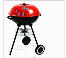 22 Inch Oven Portable barbecue Charcoal Grill BBQ Kitchen tool Party appliance Outdoor
