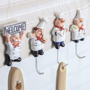 Cartoon Kitchen Chef Wall Hook