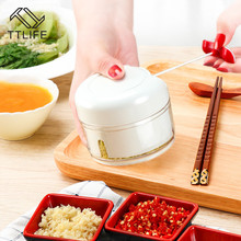 TTLIFE Garlic Presses Multifunction Stainless Steel Garlic Grater Manual Kitchen Squeeze Tool Alloy Ginge Crusher Grinding hot kitchen tool grinding garlic ginger stainless steel mill food mud grater