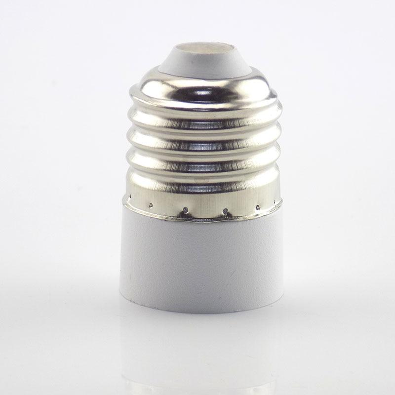 1 шт. E27 в E14 держатель лампы конвертер штекер преобразования огнеупорный CFL свет гнездо адаптер конвертер для кукурузной свечи