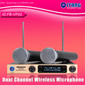 Freeboss Professional Microphones  Metal Shell Golden LCD Display KTV Party Mic System Handheld Wireless Karaoke Microphone