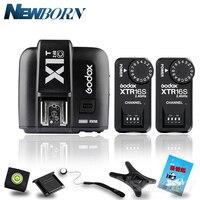 Godox X1T-C TTL 2.4G için Kablosuz Tetik Canon + 2x XTR-16S Flash Alıcı godox V850/V860C/ v850II/V860IIC/V860N/V860II-F