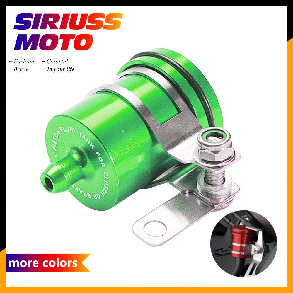 Universal Motorcycle Accessories Brake Oil Fluid Reservoir Cup Case for Kawasaki Z750 Z800 Z900 Z1000 NINJA ER-6N ER-6F universal motorcycle brake fluid reservoir clutch tank oil fluid cup for kawasaki z1000 z800 z300 zzr1400 versys 650 er 4n er 6n