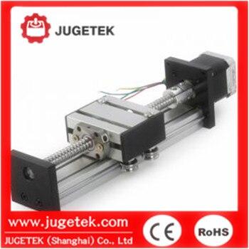 Module linéaire R23L300 de moteur pas à pas de vis à billes de roulement à rouleaux