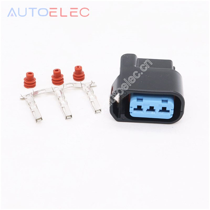 10 Kits 3pin Waterproof Wire Electrical Connector For