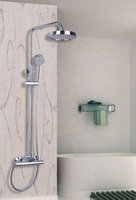 Hello Shower Set Torneira Round 8 Plastic Shower Head Bathroom Rainfall 53309 1 Bathtub Chrome Sink