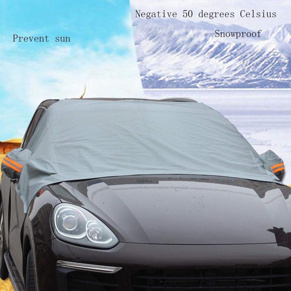 Car Sun Shade  Car Cover Waterproof Sun UV Snow Dust Rain Resistant Protection For All Sedan Auto Curtain Sunshade Car-in Windshield Sunshades from Automobiles & Motorcycles