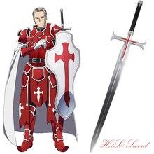 Cosplay sword art online sword caballeros de sangre historieta del anime japonés katana sword armas reales