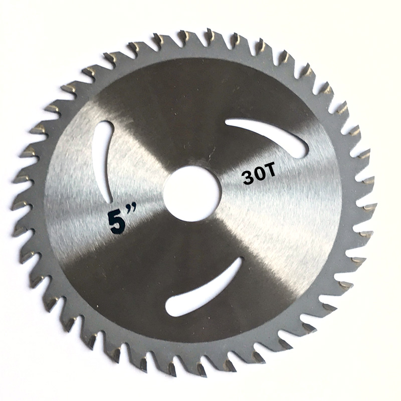 Carving 125*20mm Metal Plastic Wheel 30T Carbide Saw Blade Circular Disc Tipped Cutting Woodworking Angle Grinder