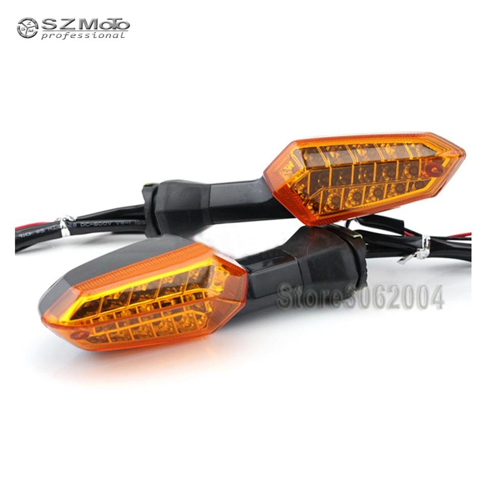 Turn Signal Blinker Lens For KAWASAKI Z125 Z250 Z300 Z750R Z800 Z1000